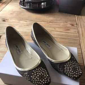 ! AUTHENTIC ! Jimmy Choo flats